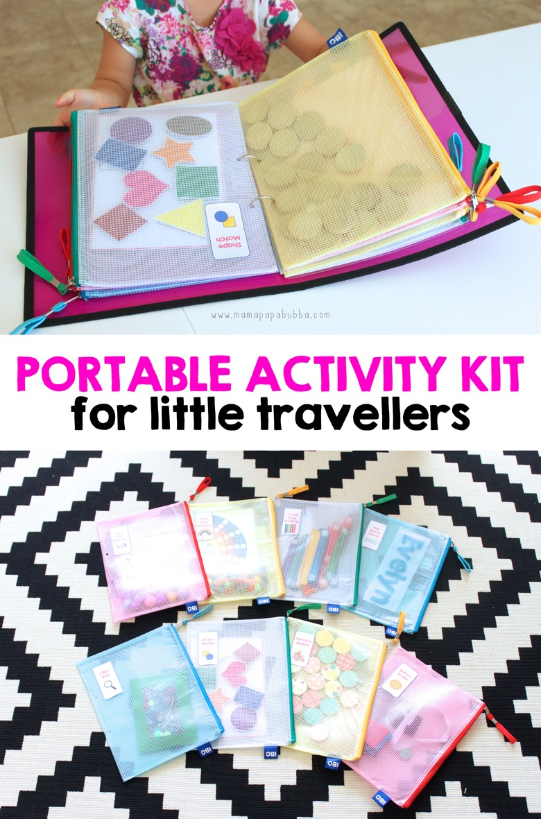 Portable Activity Kit For Little Travellers Mama Papa Bubba