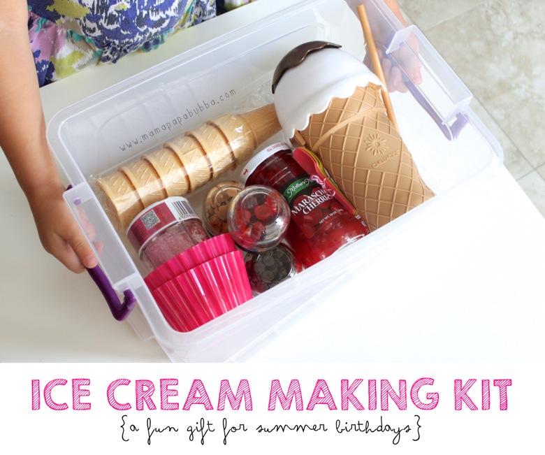Ice Cream Making Kit | Mama Papa Bubba