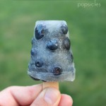 Polka Dotted Blueberry Lemonade Popsicles