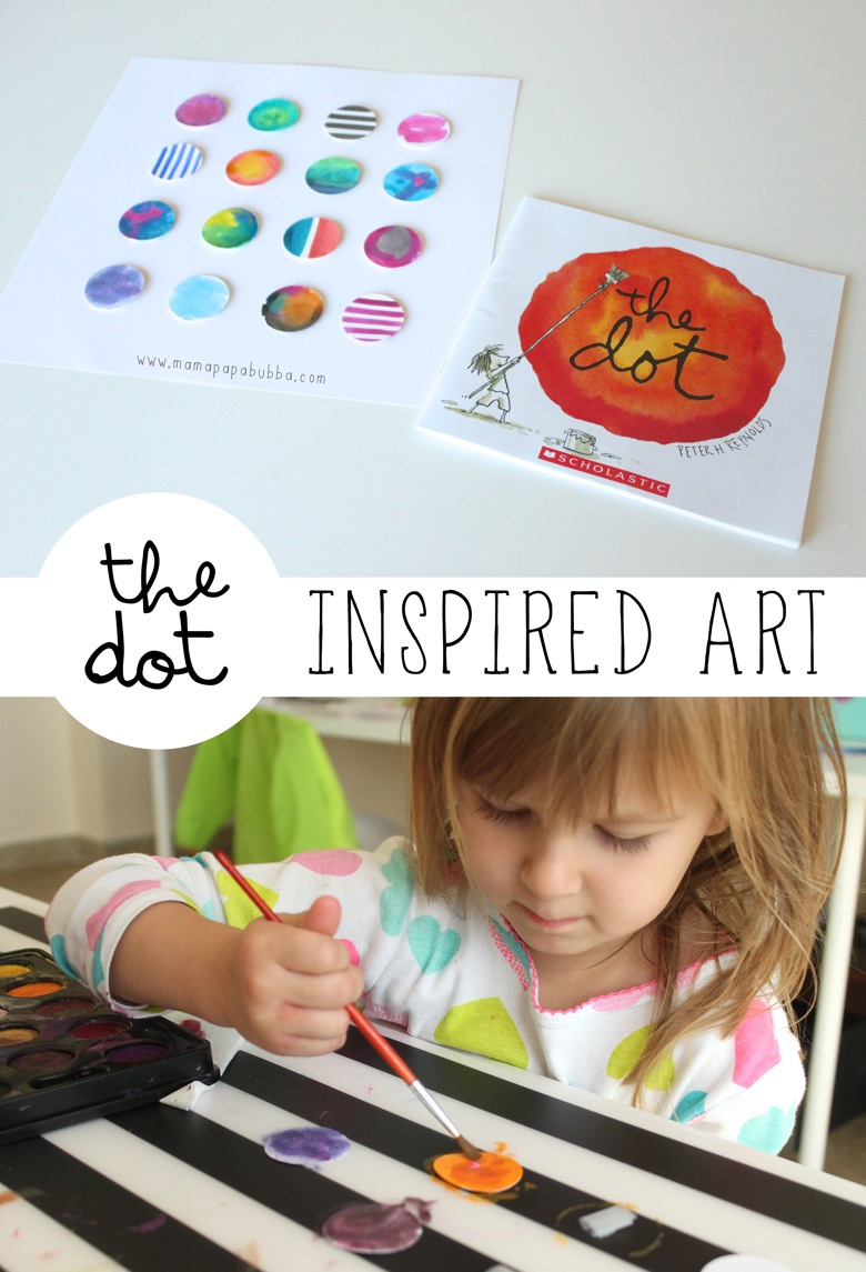 The Dot Inspired Art | Mama Papa Bubba