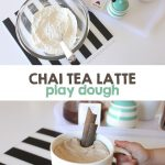 Chai Latte Play Dough