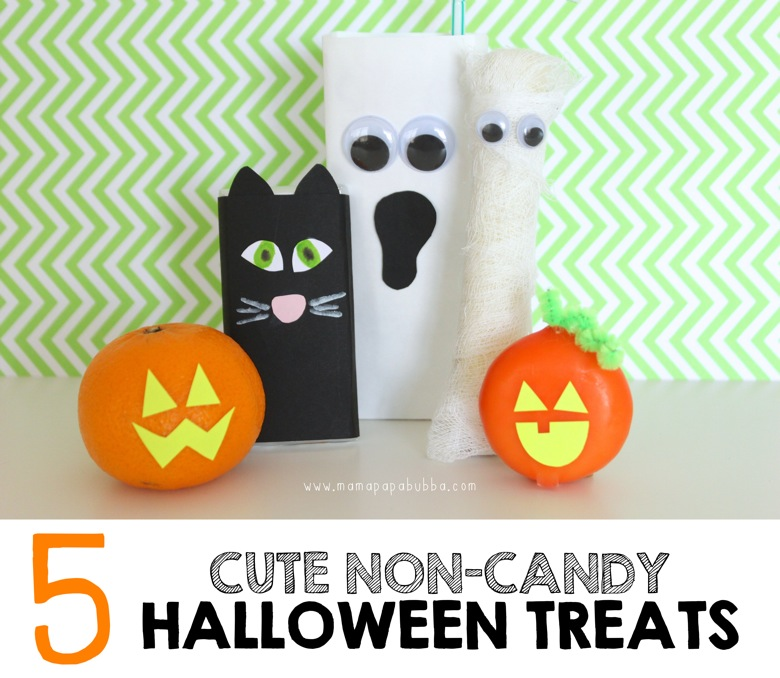 5 Cute Non Candy Halloween Treats | Mama Papa Bubba
