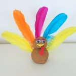Play Dough Turkeys