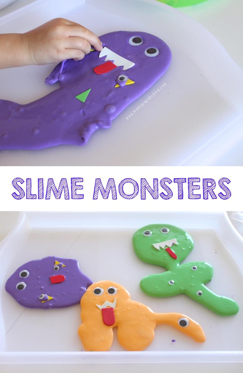 Slime Monsters | Mama Papa Bubba