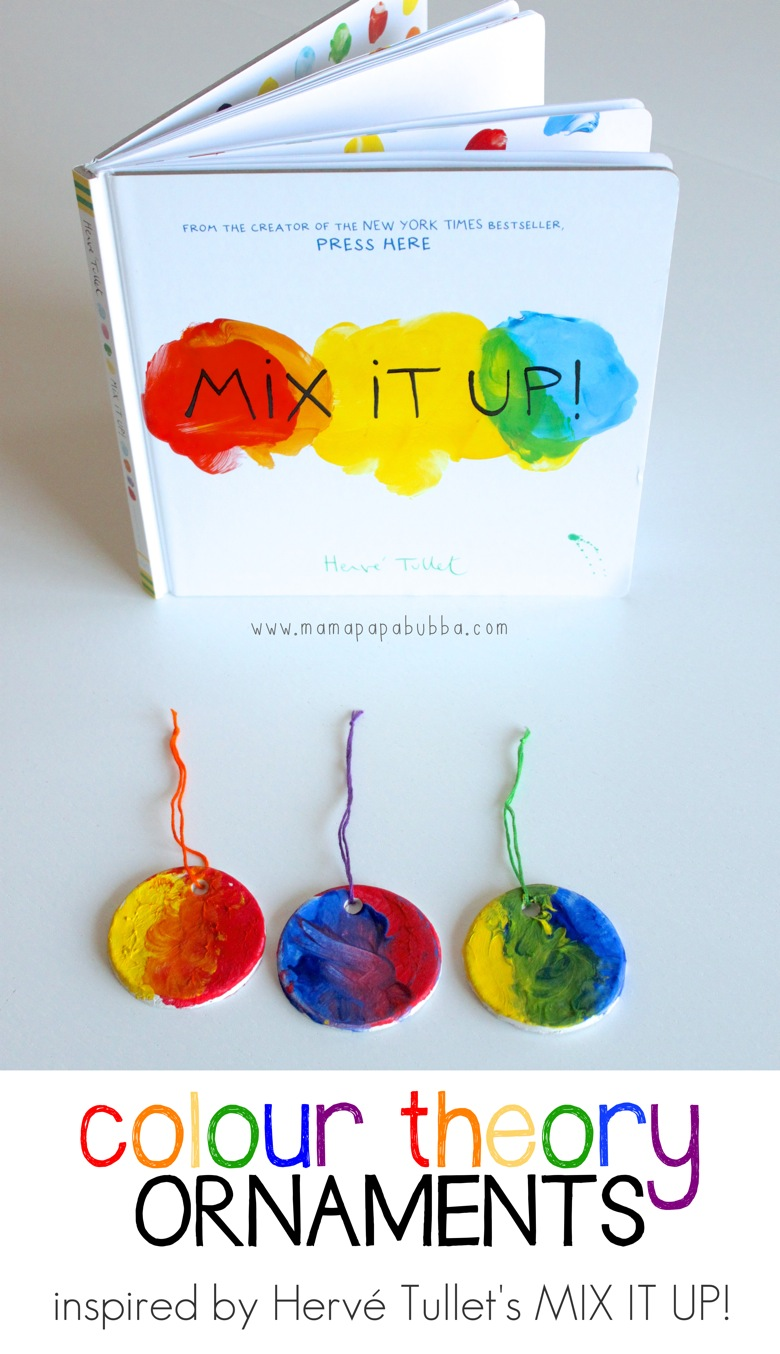 Colour Theory Ornaments | Mama Papa Bubba