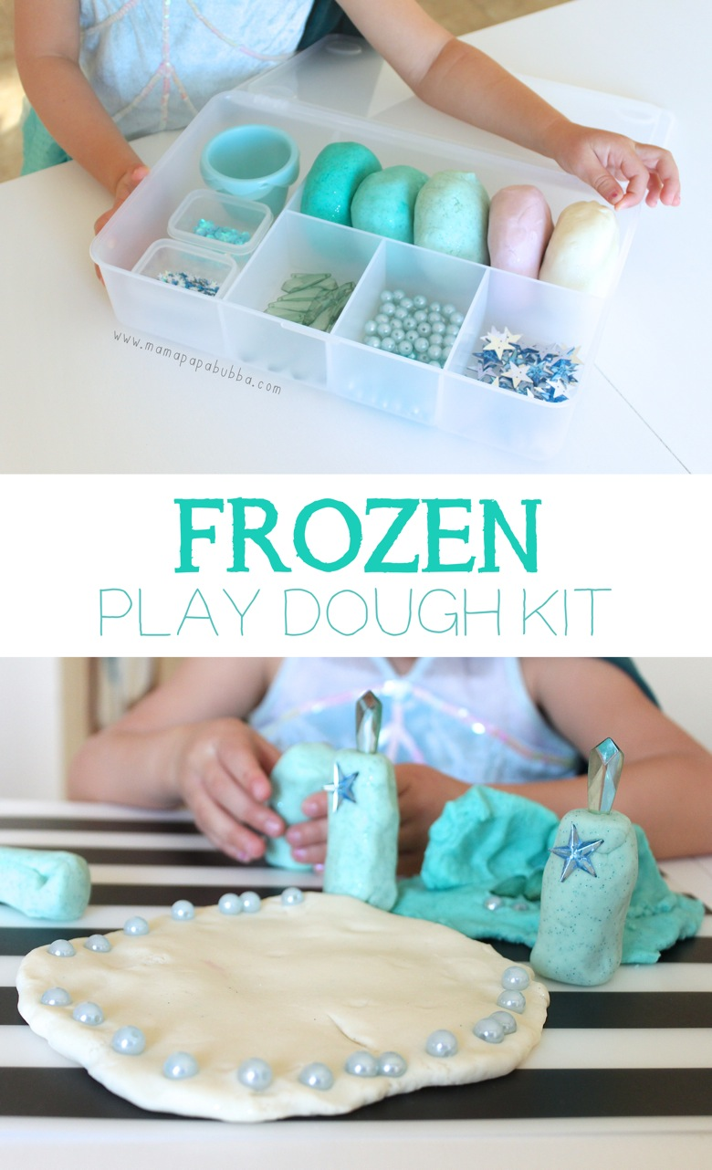 Frozen themed Play Dough Kit | Mama Papa Bubba