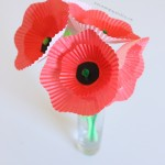 Cupcake Liner Poppies