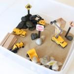 Construction Sensory Bin Gift