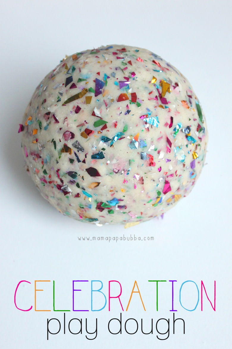Celebration Play Dough | Mama Papa Bubba