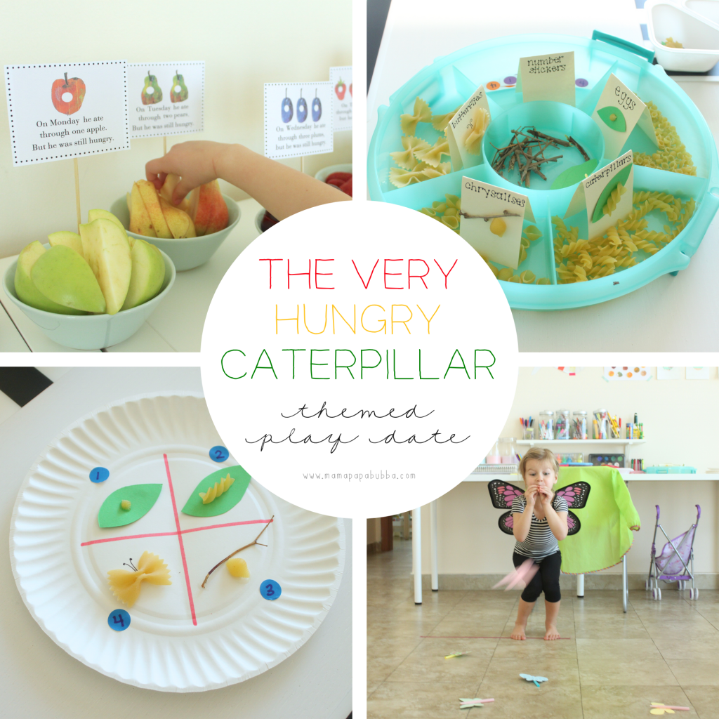 The Very Hungry Caterpillar Themed Play Date | Mama.Papa.Bubba.