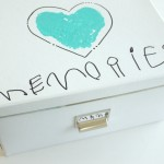 Handprint Memory Box