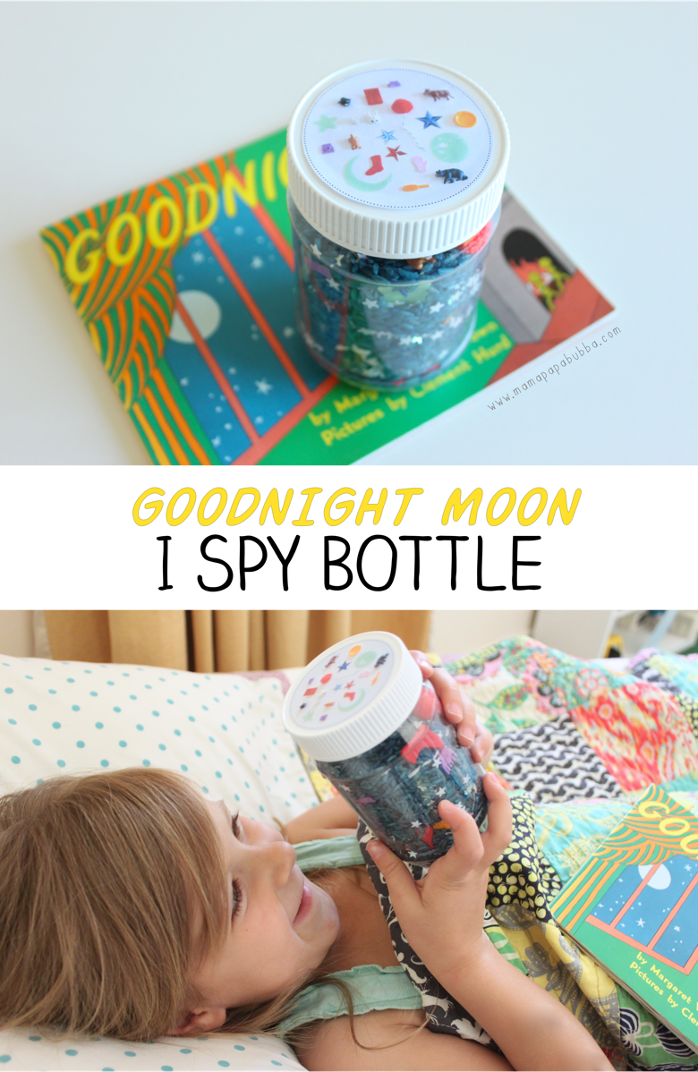 Goodnight Moon I Spy Bottle | Mama Papa Bubba