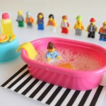 LEGO Minifigure Mini Bath Station