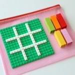 Take Along LEGO Tic-Tac-Toe