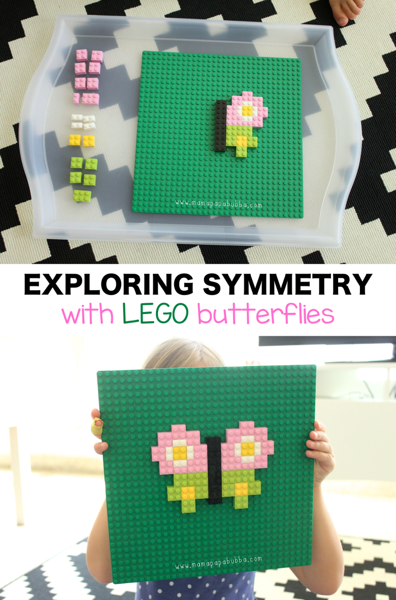 Exploring Symmetry With LEGO Butterflies | Mama Papa Bubba