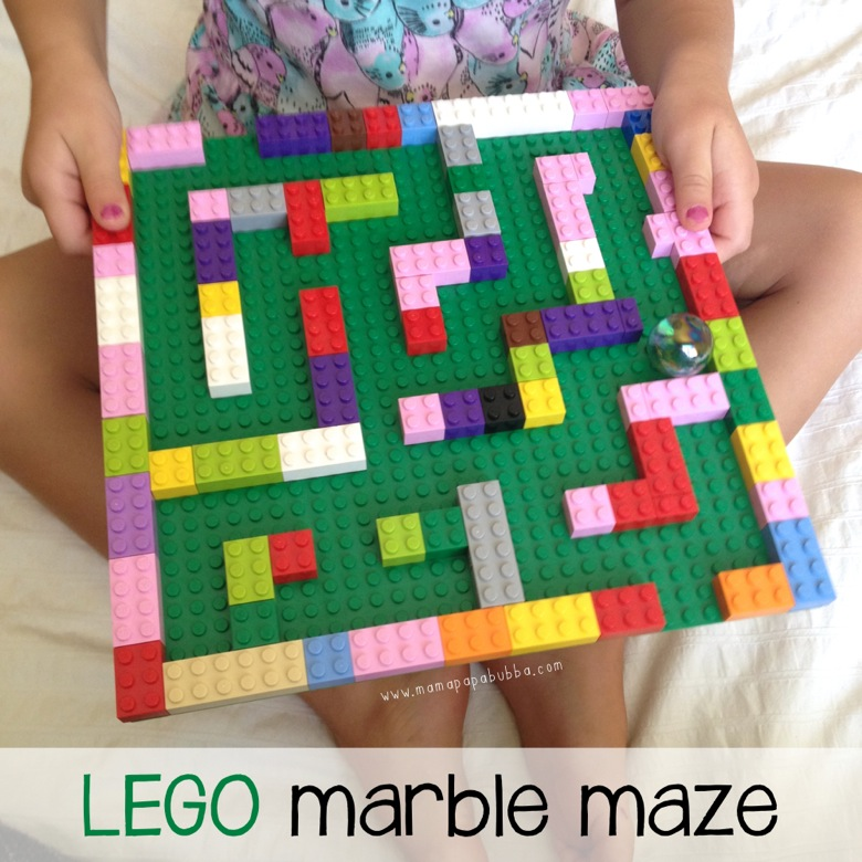LEGO Marble Maze | Mama Papa Bubba