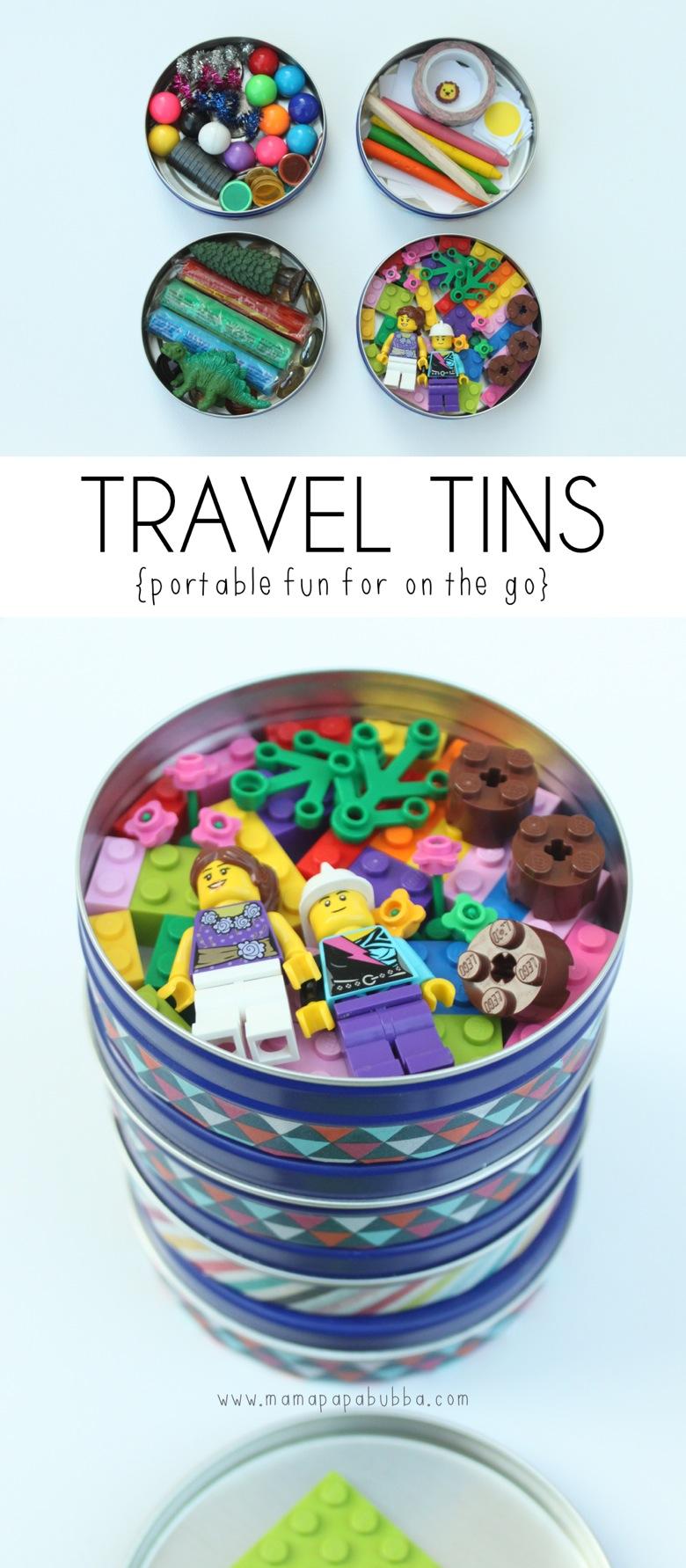 Travel Tins | Mama Papa Bubba