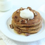 Wholewheat Pumpkin Spice Pancakes