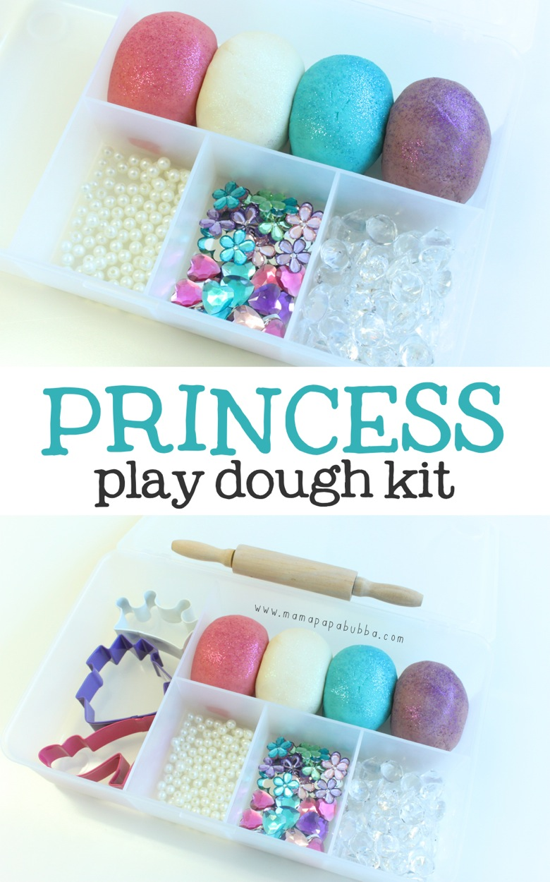 Princess Play Dough Kit | Mama Papa Bubba