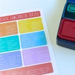 School Lunch Ideas Printable