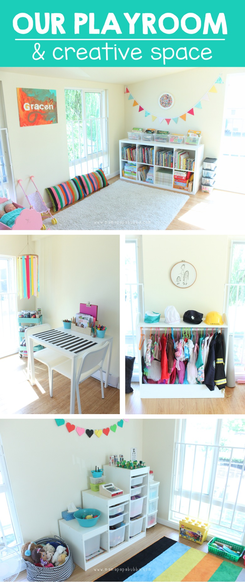 Playroom  Creative Space | Mama Papa Bubba