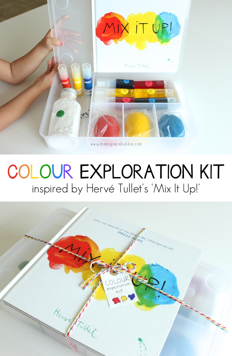 Colour Exploration Kit with  Mix It Up | Mama Papa Bubba