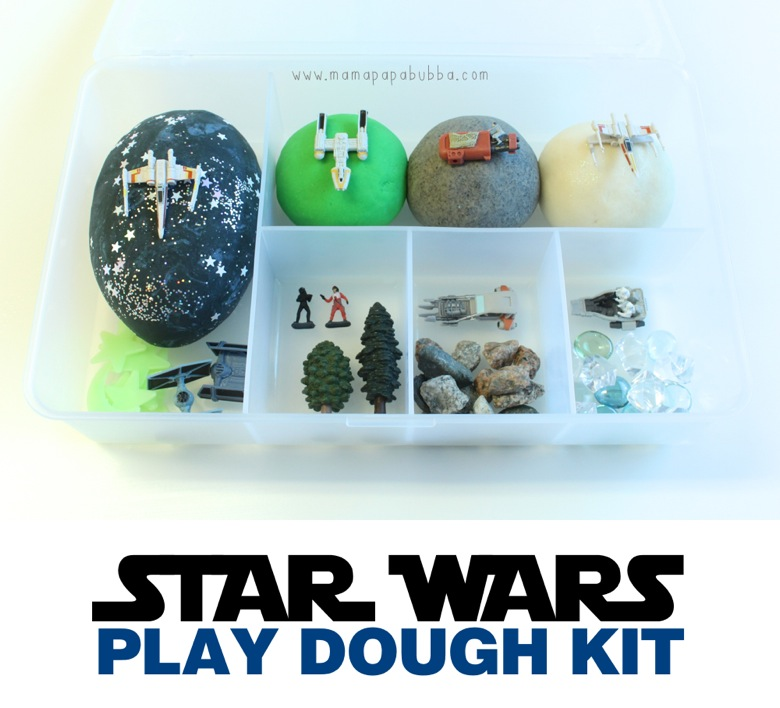Star Wars Play Dough Kit | Mama Papa Bubba