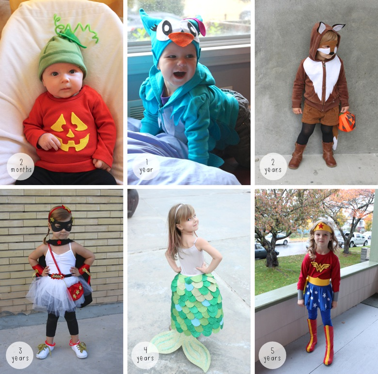 Halloween Through the Years  2015