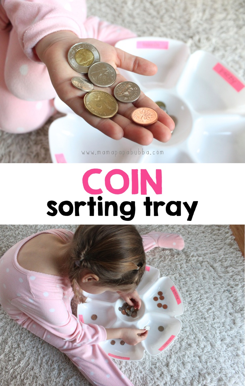 Coin Sorting Tray | Mama Papa Bubba