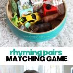 Rhyming Pairs Matching Game