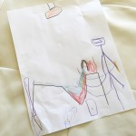 Bum Pockets & Guck Sacks {A Drawing by Miss G}