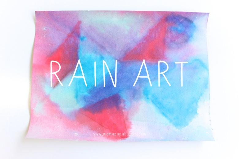 Rain Art | Mama Papa Bubba