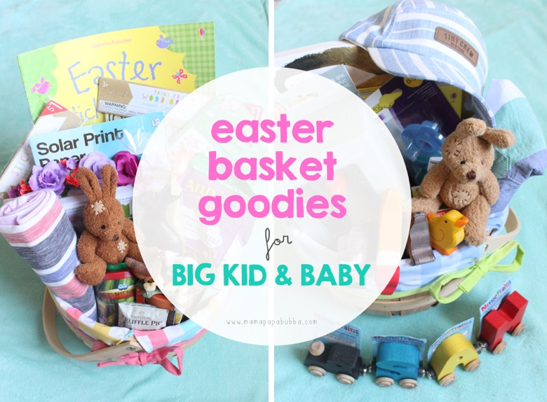 Easter Basket Goodies for Big Kid  Baby | Mama Papa Bubba