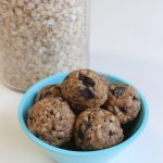 Oatmeal Chocolate Chunk Energy Balls