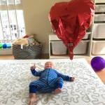 Floating Balloon Play for Babies