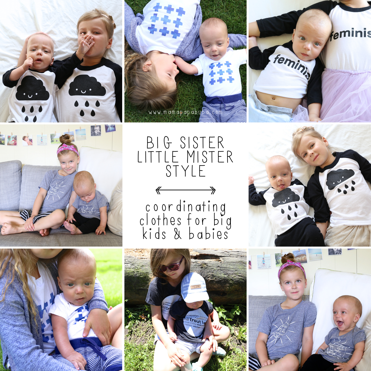 Big Sister Little Mister Style | Mama.Papa.Bubba.