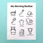Printable Morning Routine Chart