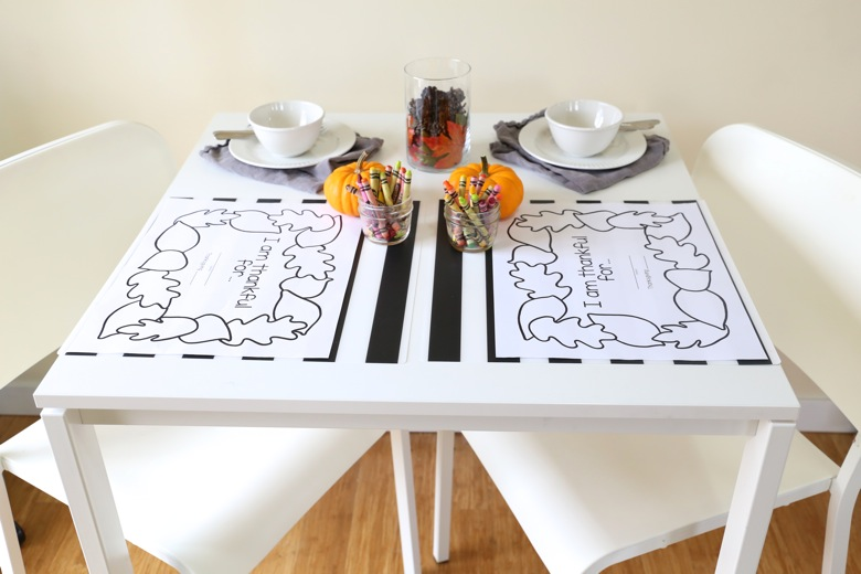 image relating to Printable Thanksgiving Placemat referred to as Printable Thanksgiving Placemats - Mama.Papa.Bubba.