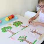 Play Dough Apple Tree Life Cycle