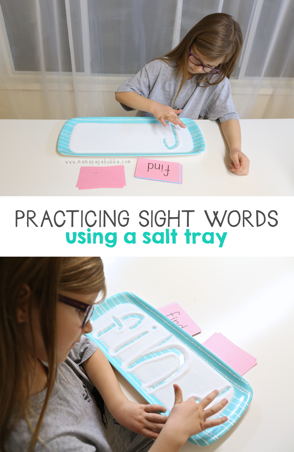practicing-sight-words-using-a-salt-tray-mama-papa-bubba
