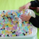 Water Bead Play for Babies