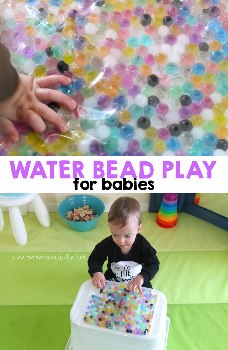 Water Bead Play for Babies | Mama Papa Bubba