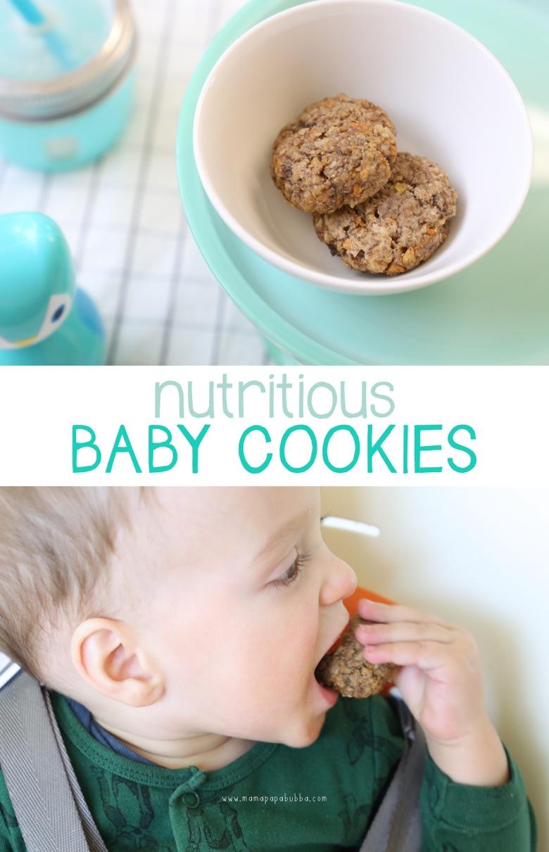 Nutritious Baby Cookies | Mama Papa Bubba