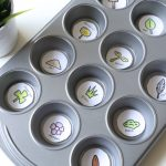 Spring Muffin Tin Scavenger Hunt