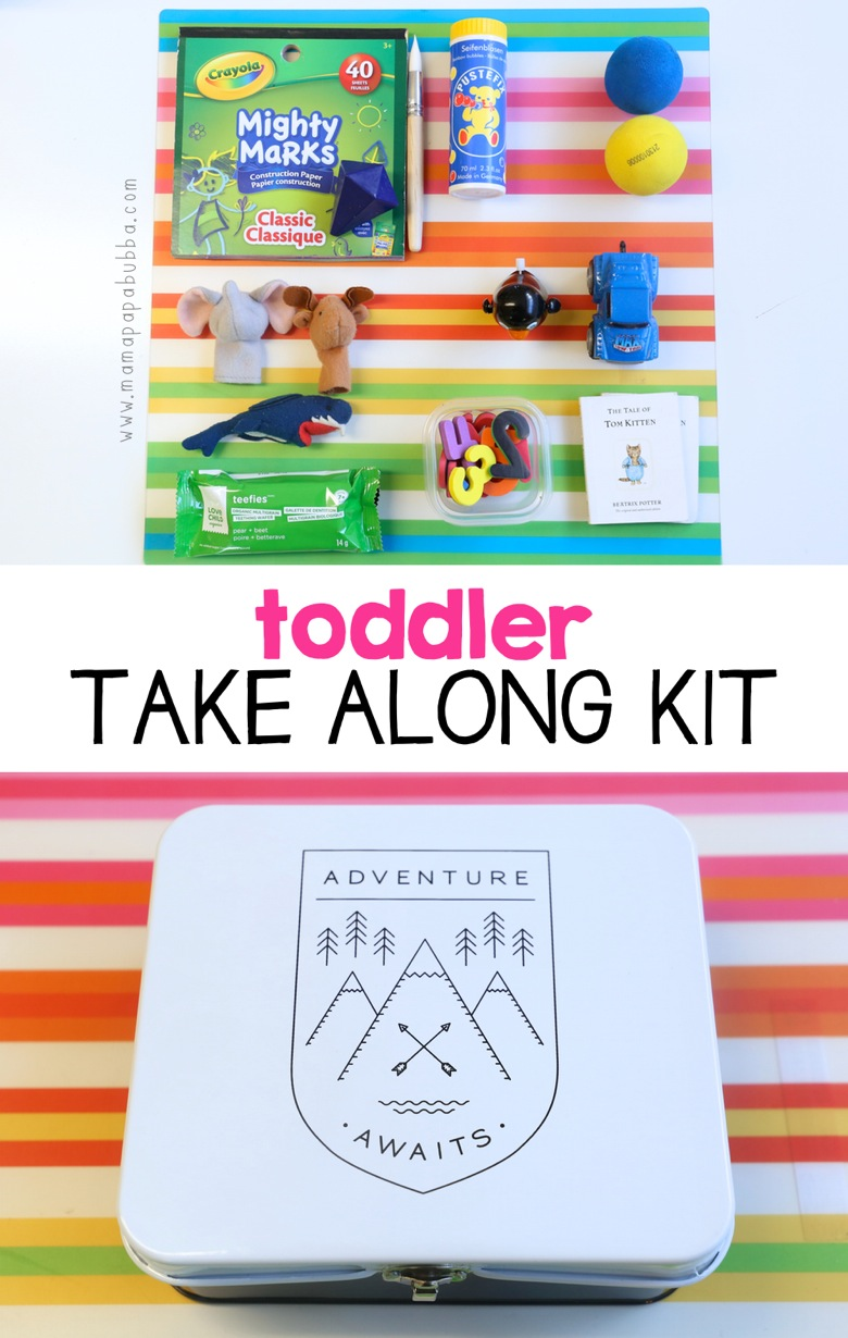 Toddler Take Along Kit | Mama Papa Bubba