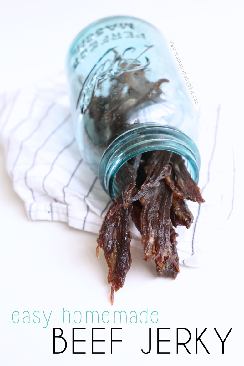 Easy Homemade Beef Jerky | Mama Papa Bubba