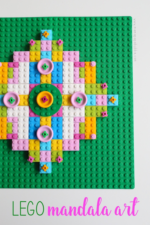LEGO Mandala Art | Mama Papa Bubba
