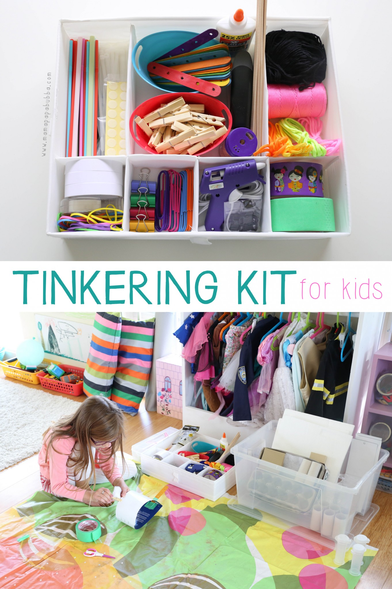 Tinkering Kit for Kids | Mama.Papa.Bubba.