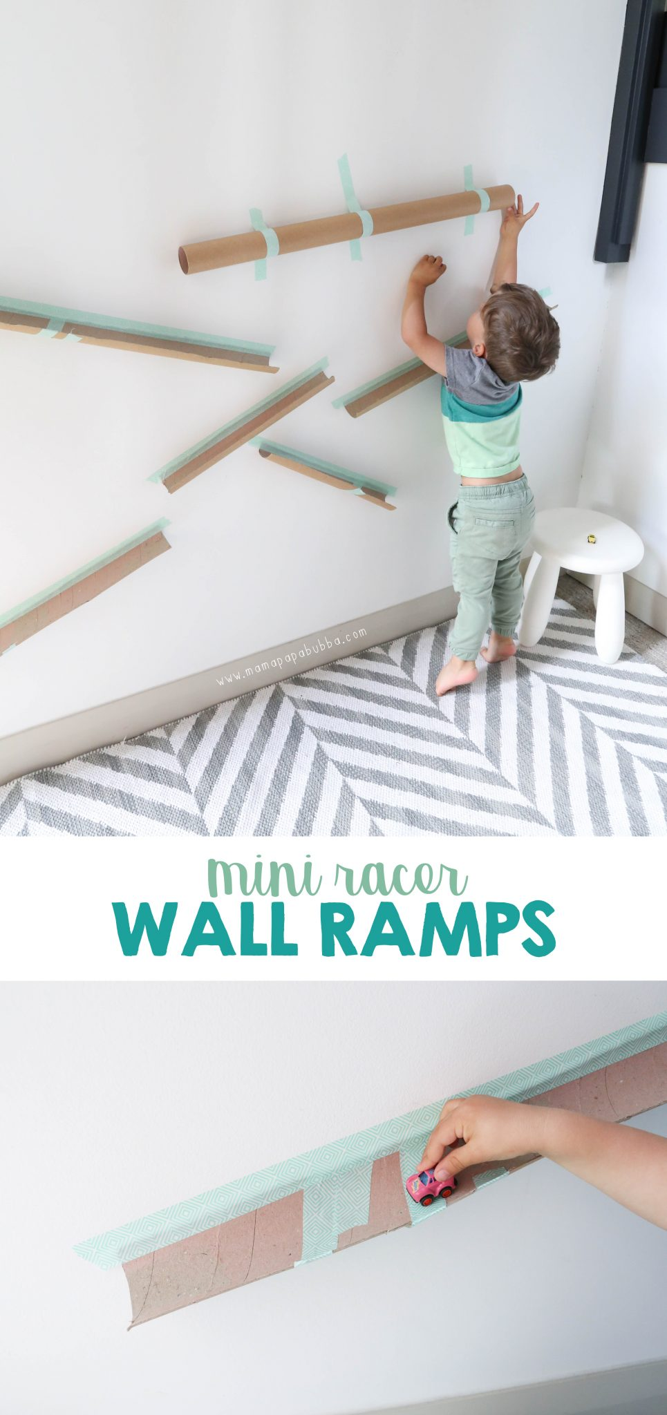 Mini Racer Wall Ramps | Mama.Papa.Bubba. Blog