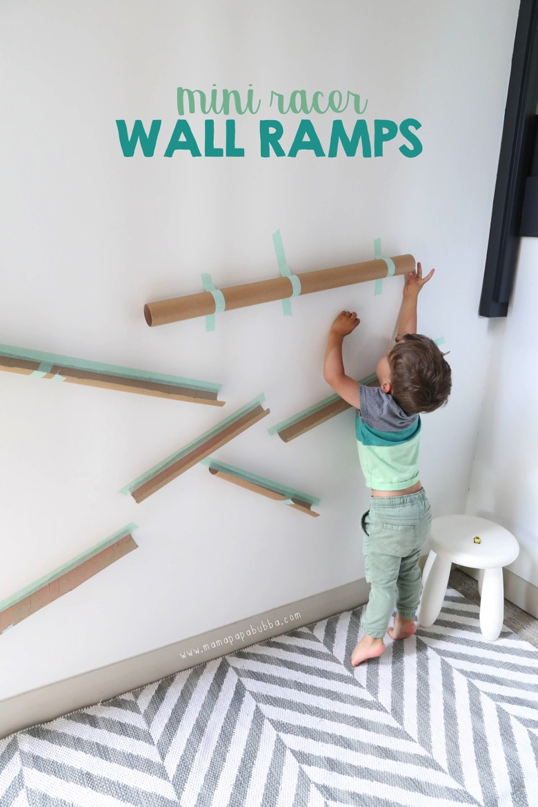 Mini Racer Wall Ramps | Mama Papa Bubba